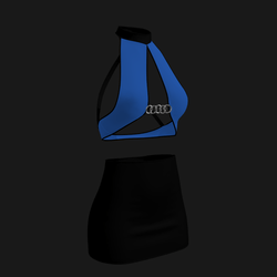 Leera Clubbing Outfit (Blue/Black)