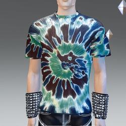 Green Hip Tie-Dye T-Shirt - Male