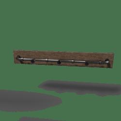 Industrial Coat-Rack Light Metal