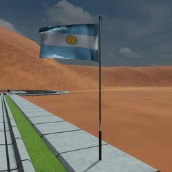 TKA Animated flag Argentina