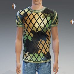 Combat CamoNet Athletic Shirt - Male