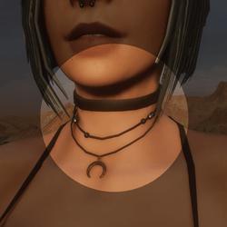 Alice's Moon Black Choker  - Clothing