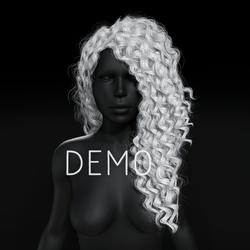 Sandra Hair - White (Demo)