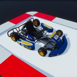 Go Kart blue input script ! v2