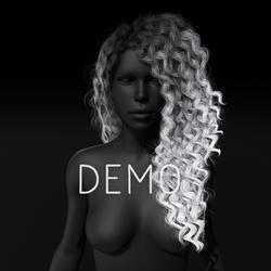 Sandra Hair - Gray Ombre (Demo)