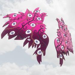 Metallic glossy Wings