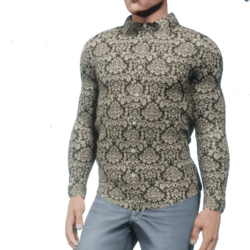 Damask Shirt (Mens)