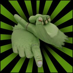 Foam Hand♂ 02