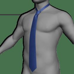 Tie / Cravat blue