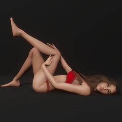 Supermodel Pose 16
