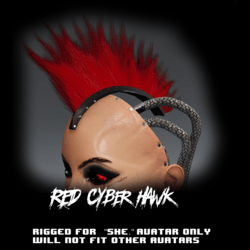 Cyber Hawk (red)