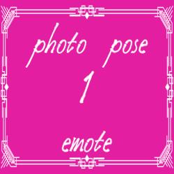 photo pose 1