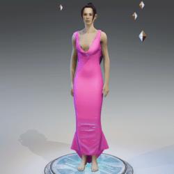 Elegant Dress BABY PINK