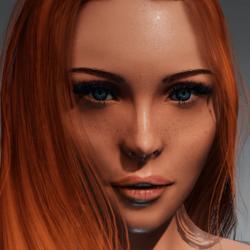Irene Head with wet skin for Kismet Body by Apocalypse Bunnies