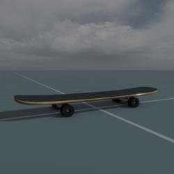 Ridable Skateboard