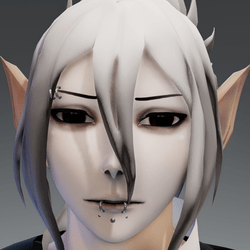 XRezo head piercing shad face