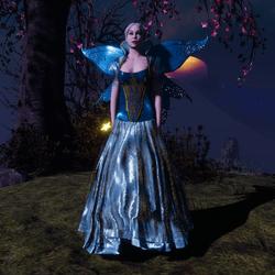 Blue Fairy Wings