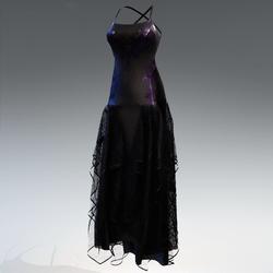 Halloween witch dress - purple