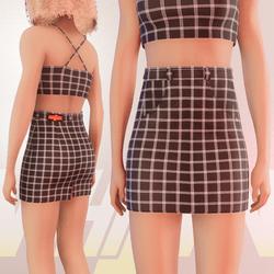 Black Iconic Skirt