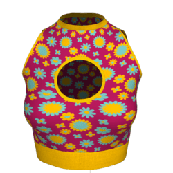 Woman Little Top - Psychedelic