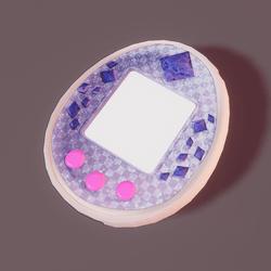 Tamagotchi Sp purple
