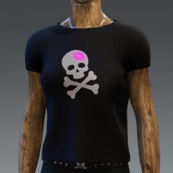 Pinky Kiss o death shirt