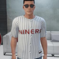 Star Trek Deep Space Nine Baseball Jersey