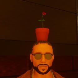 Flower pot male