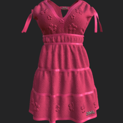 DROMA DRESS FUCHSIA