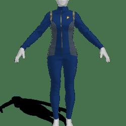 AV2 - Star Trek Discovery Female Uniform Replica