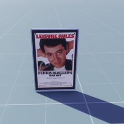 POSTER Ferris Bueller's Day Off