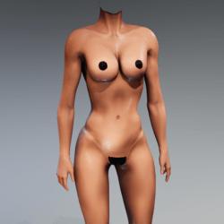 Kismet Body 3B wet (UPDATED) by Apocalypse Bunnies
