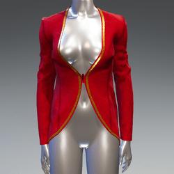 Elf blazer - red