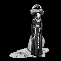 VanessaAfrika_Skeleton Dress DEMO
