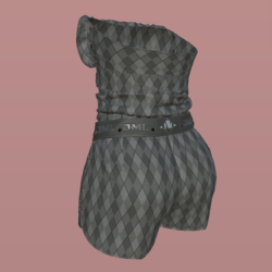 GABRIELLE OUTFIT_ GRAY_