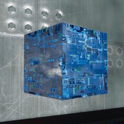 Alien Square Chip Board