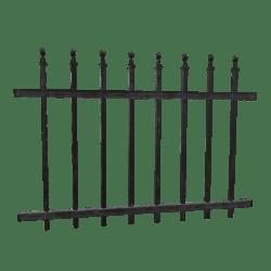 Wrought Iron Fence - 2m