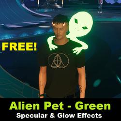 Free Gift - Alien Pet - Green