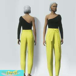 garb lemon pants