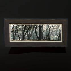 Horizontal Painting - Trees