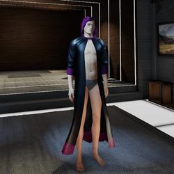 Robe Purple