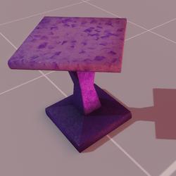 Astra stool violet
