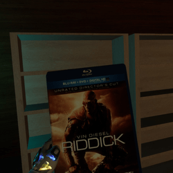 riddick bluray case