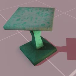 Astra stool sky blue