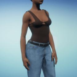 Dark Nude Bodysuit
