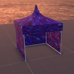 Tent/MarketStall/Gazebo (BrightPixel)