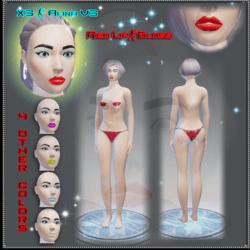 X3 - Alina - V3 Red Avatar