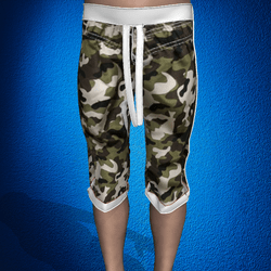 CAMO BEACH TRUNKS