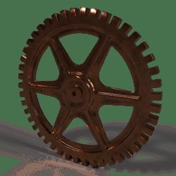 Industrial Gear Copper