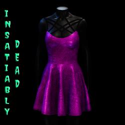 Magica Skater Dress [PINK]